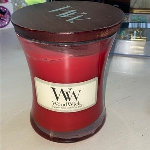 WoodWick candle Sangria